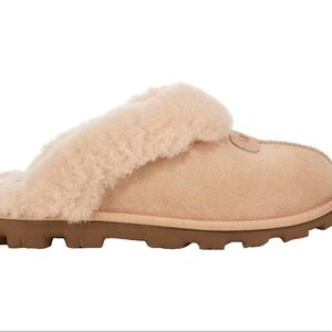 UGG coquette light pink tread slippers. Size 10.